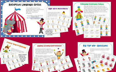 Receptive Language Circus!