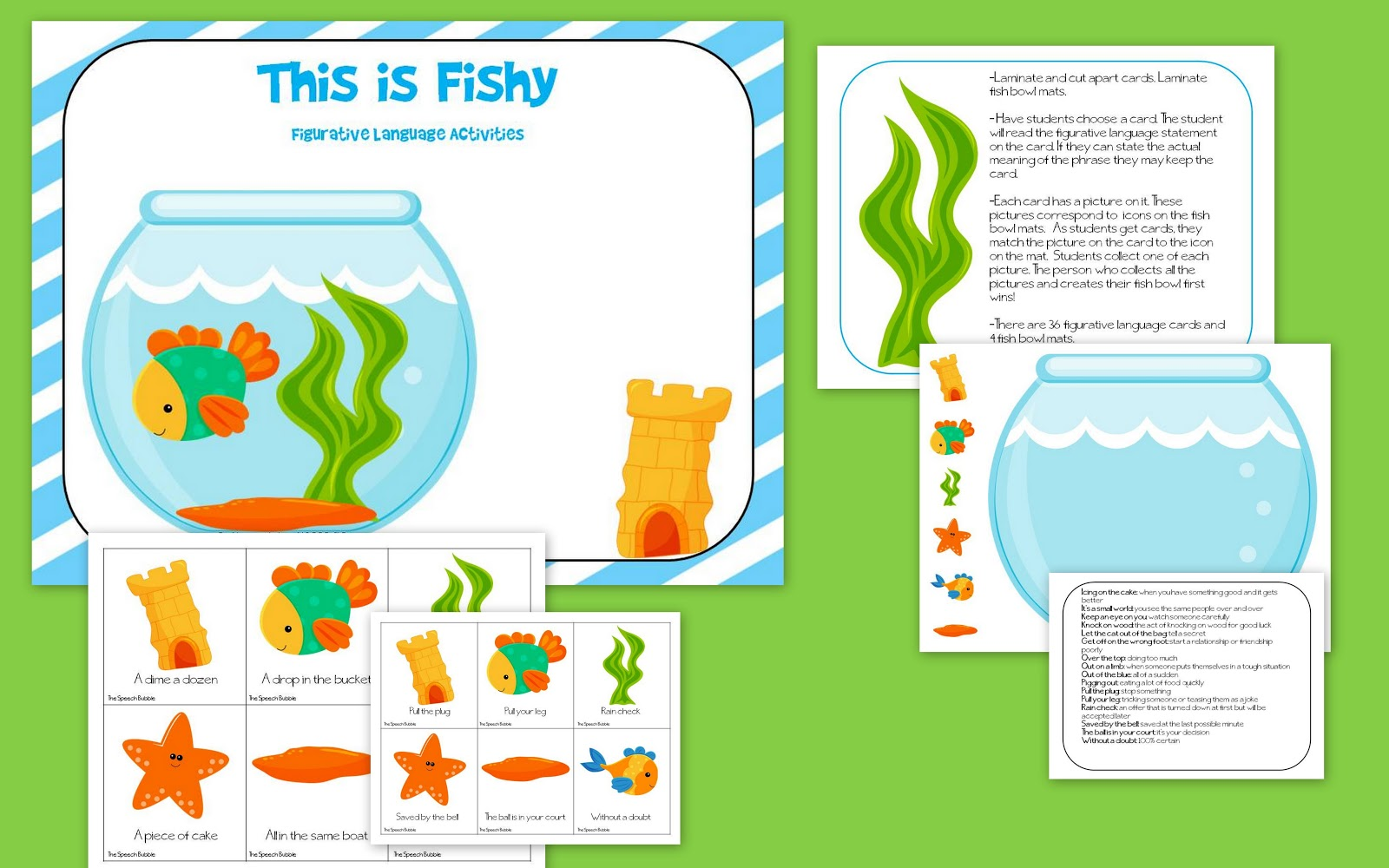 This is Fishy: A Figurative Language Activity