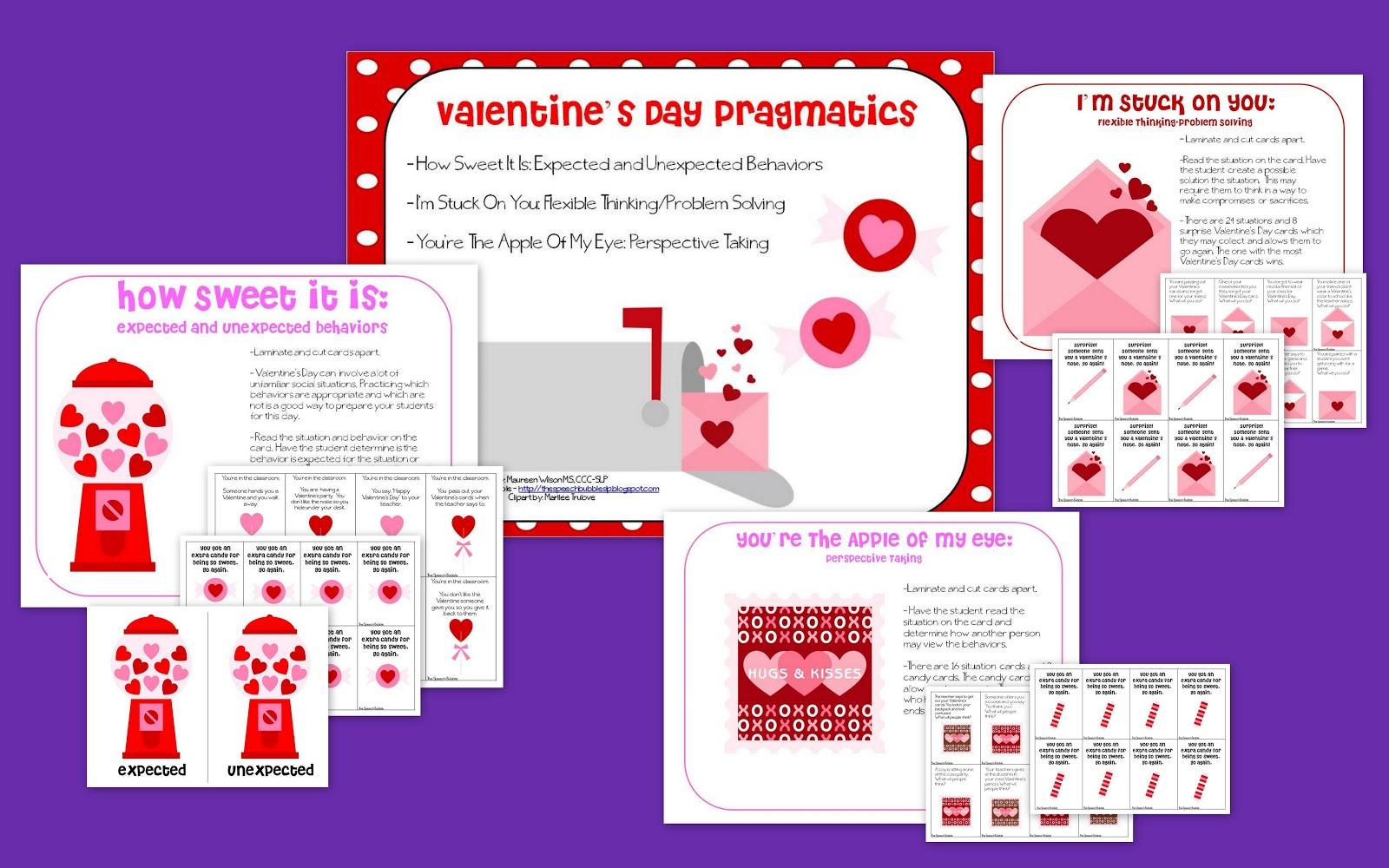Valentine's Day Pragmatics