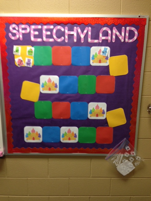 vocabulary bulletin board ideas