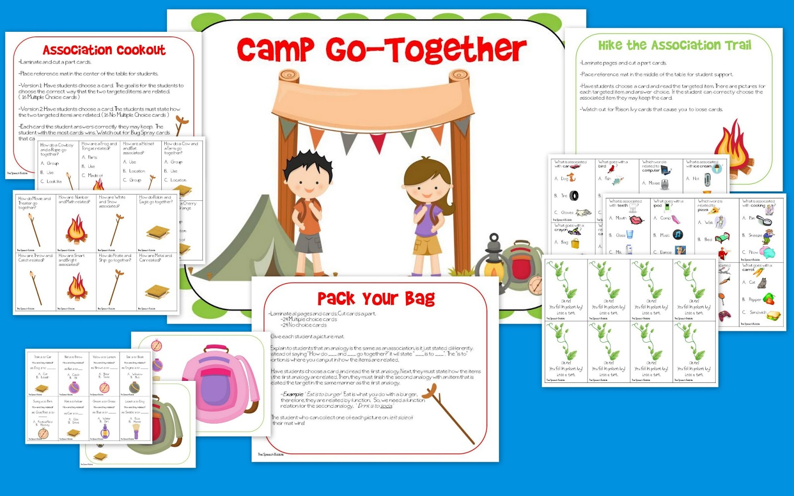 Camp Go-Together: Associations and Analogies