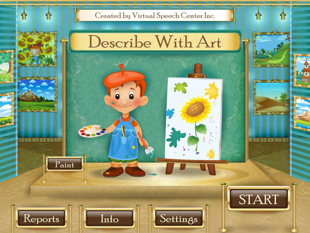 Describe with Art: App Review