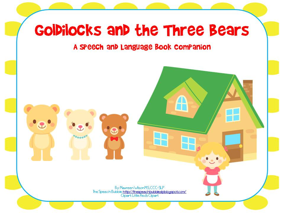 The Three Bears Sequencing Cards. On when no one morning, while she