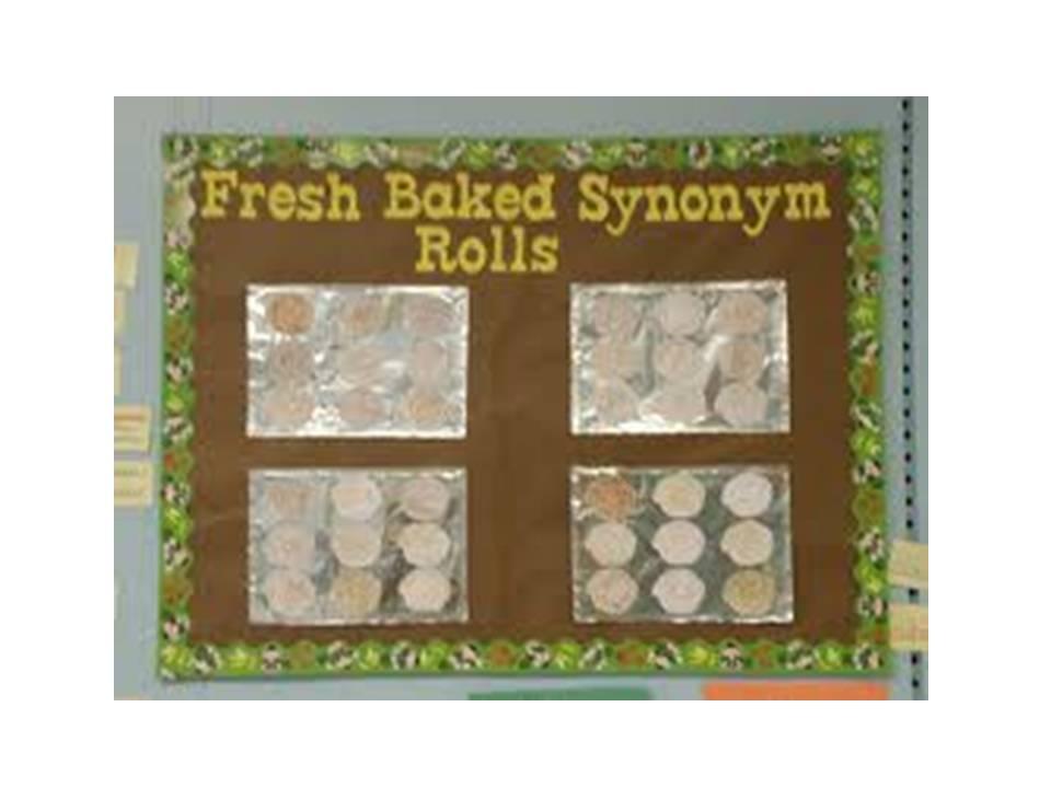 Synonym Rolls, Yum!