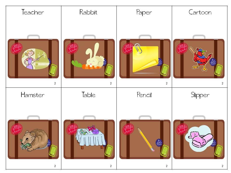 Premise Indicator Words: Multisyllabic Suitcases: FREEBIE