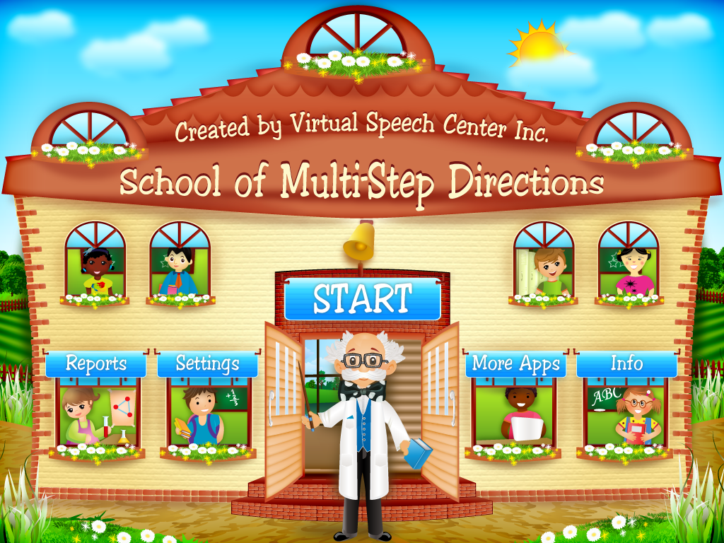 School of Multi-Step Directions: App Review