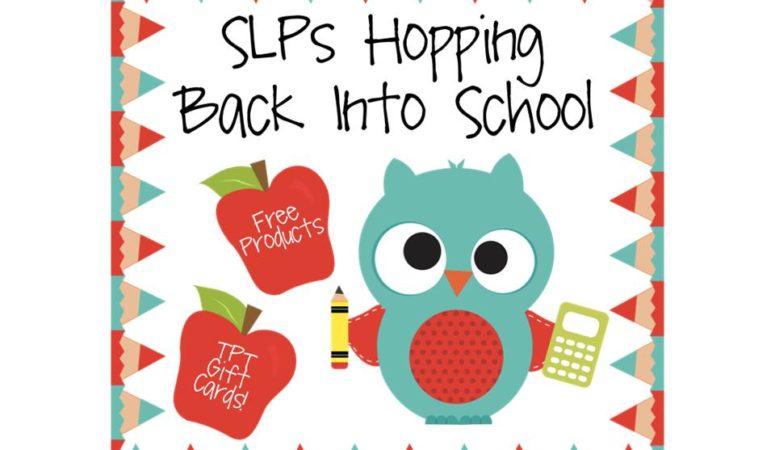 SLPs Hopping Back Into School