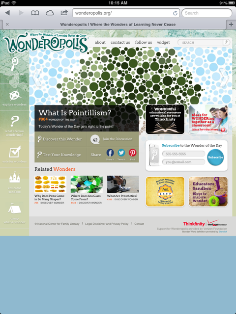 The Wonderful World of Wonderopolis