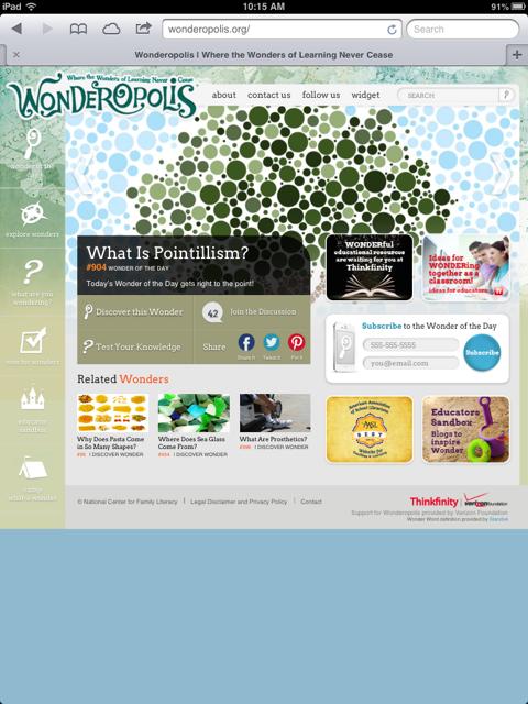 The Wonderful World of Wonderopolis