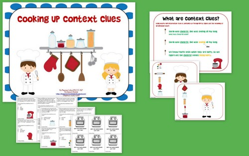 Working on context clues has become critical now that it is a Common ...