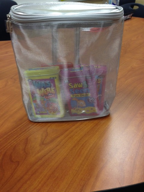 SLP Life Hacks zip bag The Speech Bubble SLP