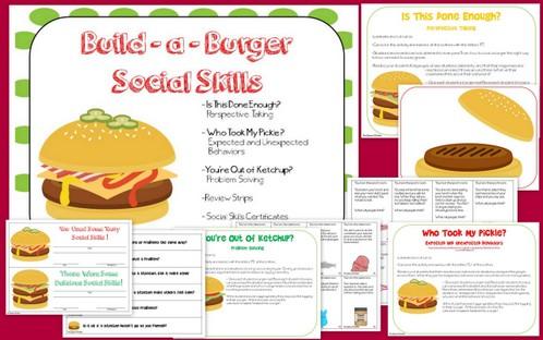 Build a Burger Social Skills