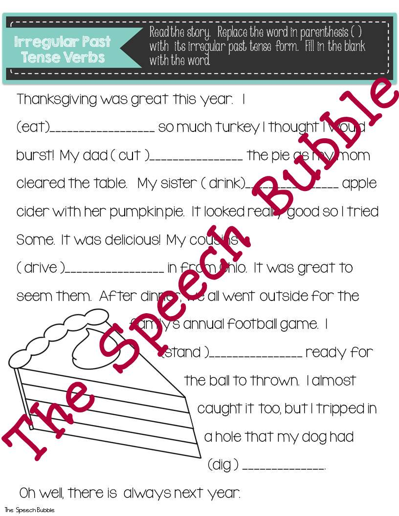 thanksgiving themed language glyphs the speech bubble slp