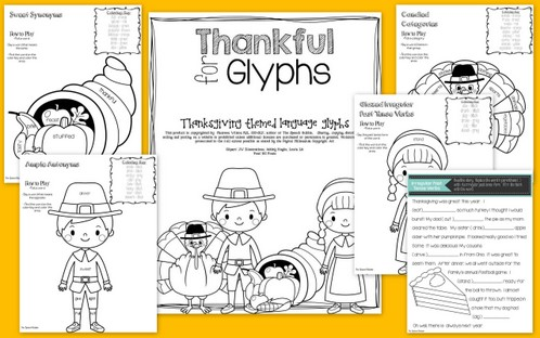 Thankful for Glyphs