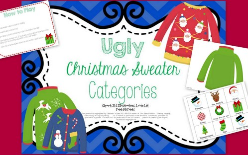 Ugly Christmas Sweater FREEBIE!