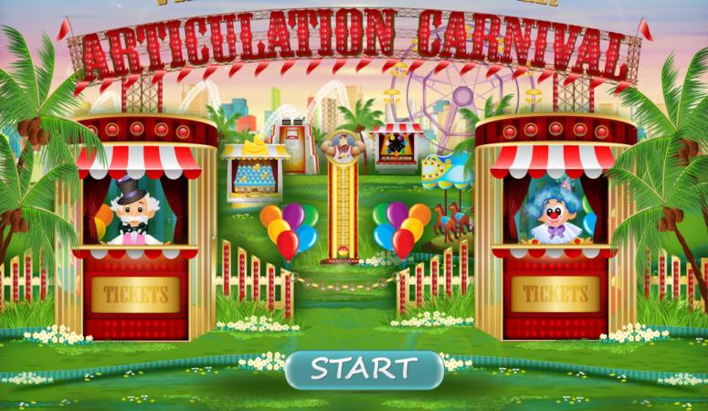 Articulation Carnival Pro by Virtual Speech Center