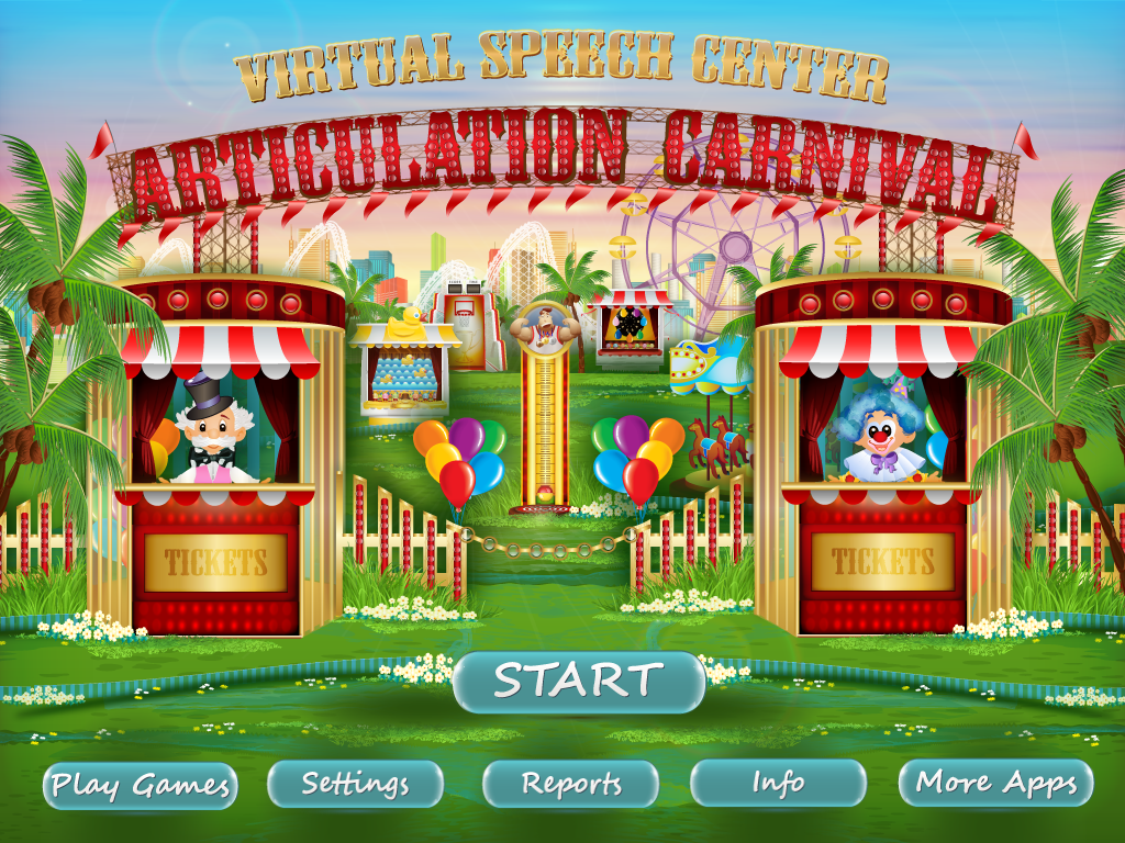 Articulation Carnival Pro by Virtual Speech Center