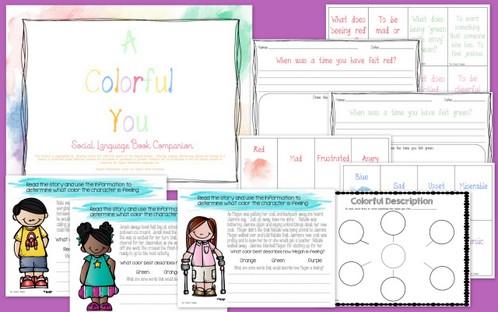 A Colorful You Book Companion