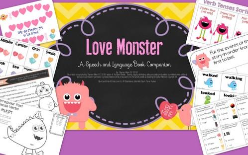 Love Monster Book Companion