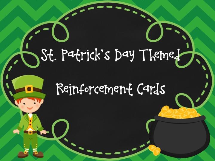 St. Patrick's Day Speech Activity