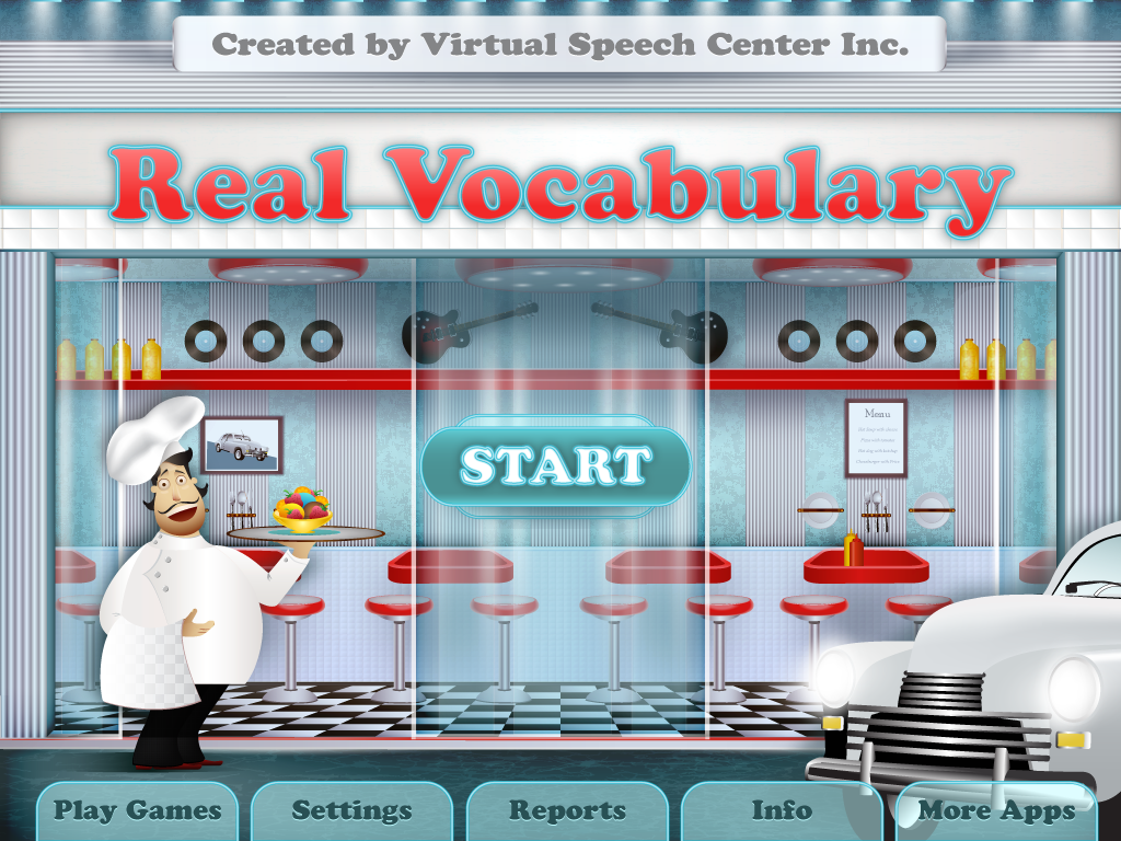 Real Vocabulary Pro by Virtual Speech Center
