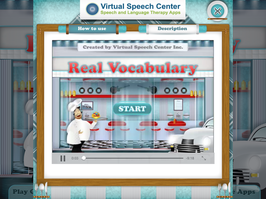 Real Vocabulary Pro by Virtual Speech Center - The Speech Bubble