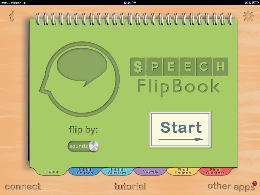 Speech Flipbook App Review