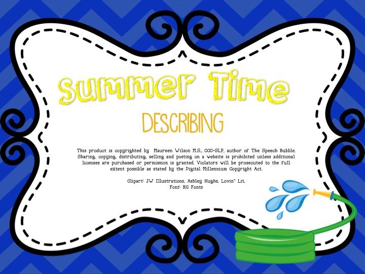 Summer Time FREEBIE!