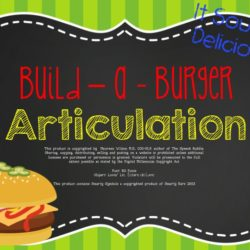 Build-a-Burger Articulation