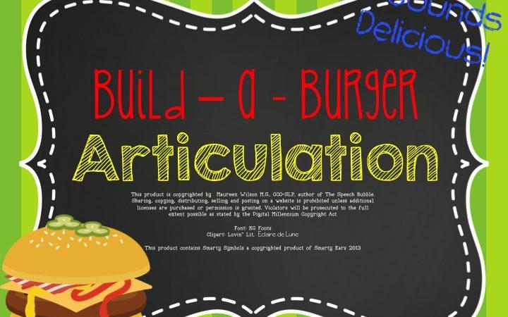 Build-a-Burger Articulation