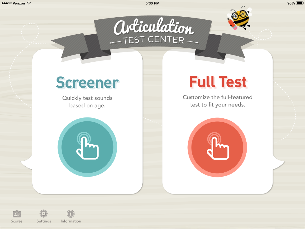 Articulation Test Center by Little Bee Speech