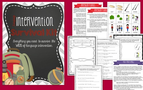 The Language Intervention Survival Kit