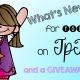 What's New?… and a GIVEAWAY!