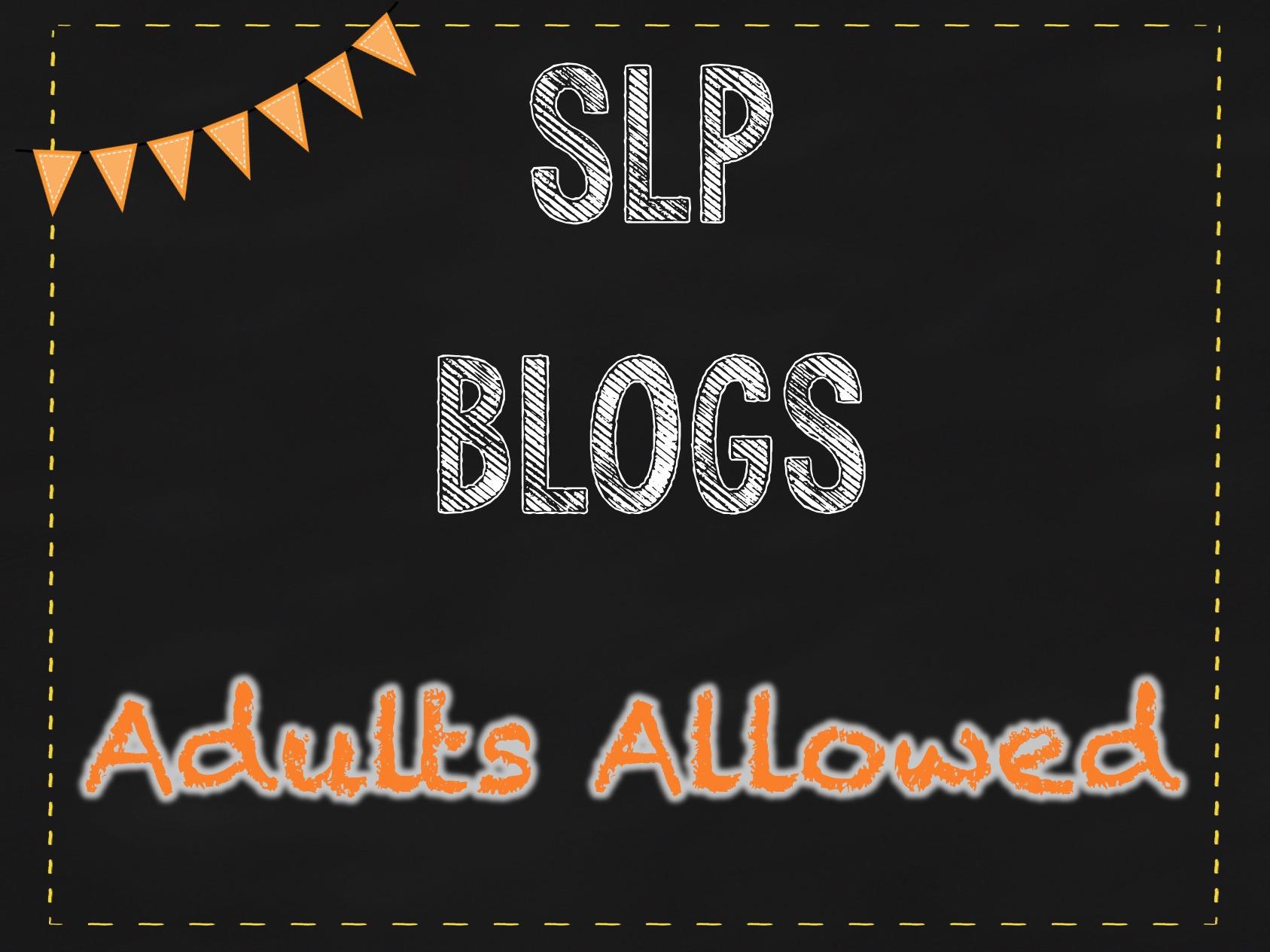 Speech Blogs: Not Just for Kids