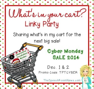 What's In Your Cart ? Linky Party!