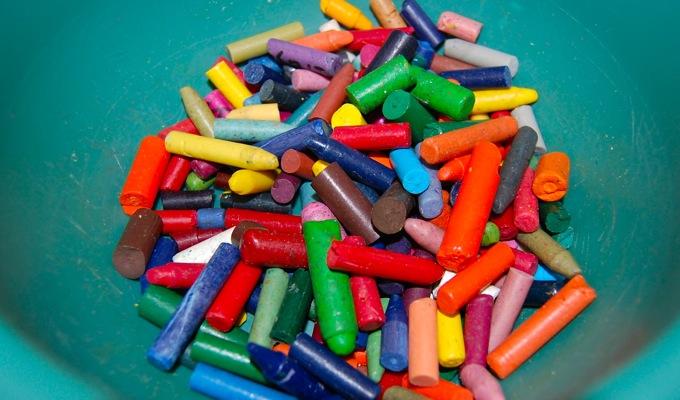 SLP Life Hacks broken crayons The Speech Bubble SLP