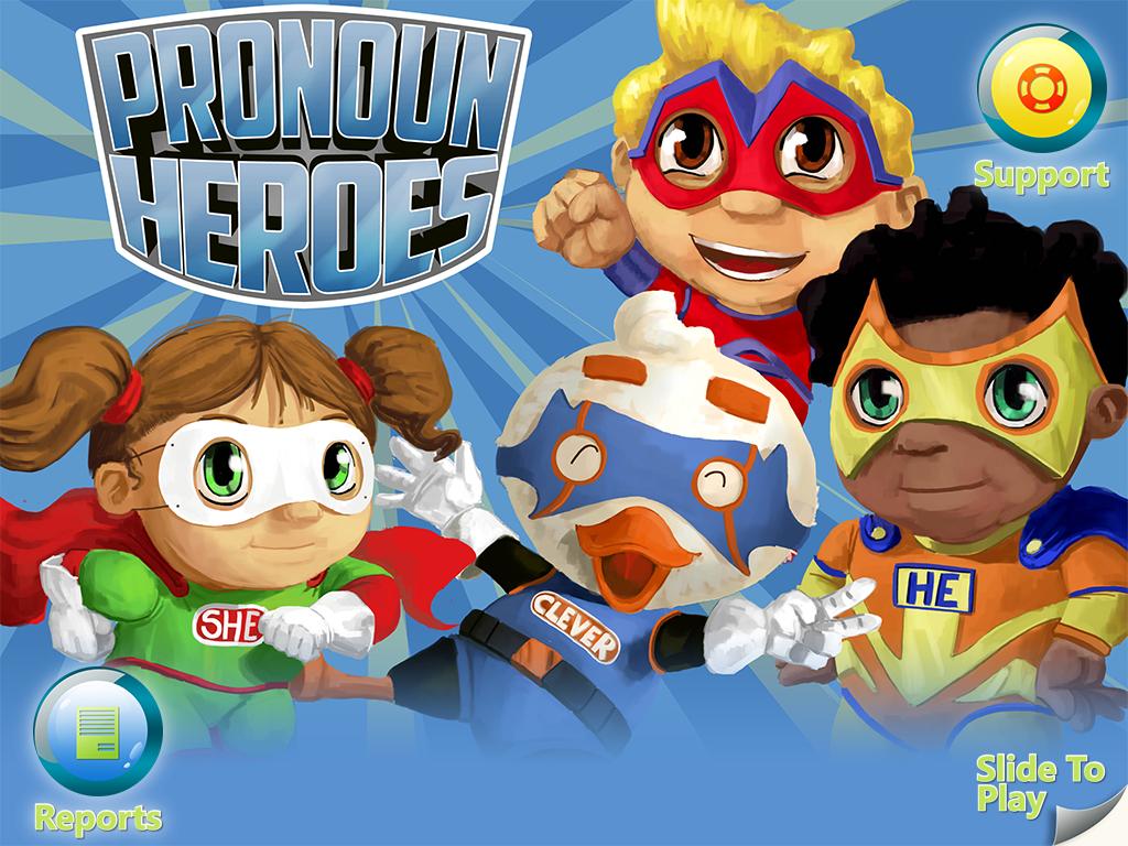 Pronoun Heroes