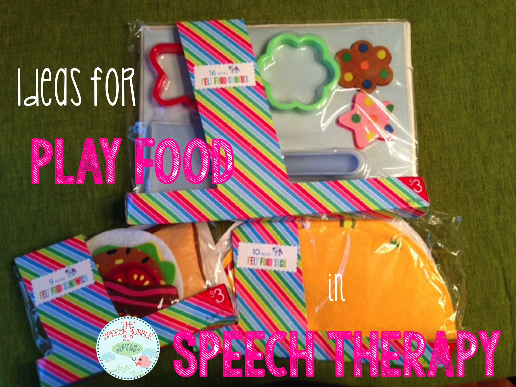 Ways To Use Play Food in Speech Therapy