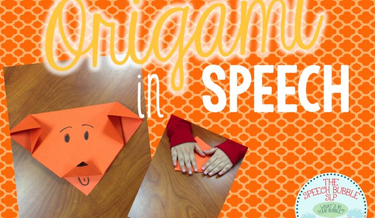 Origami in Speech