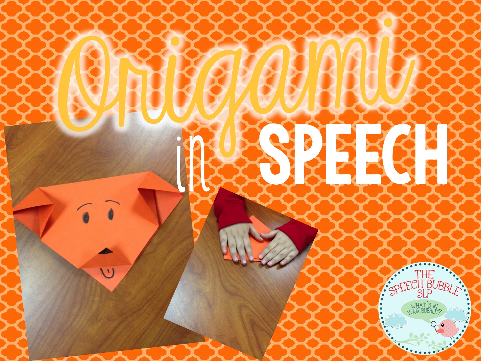 Origami in Speech