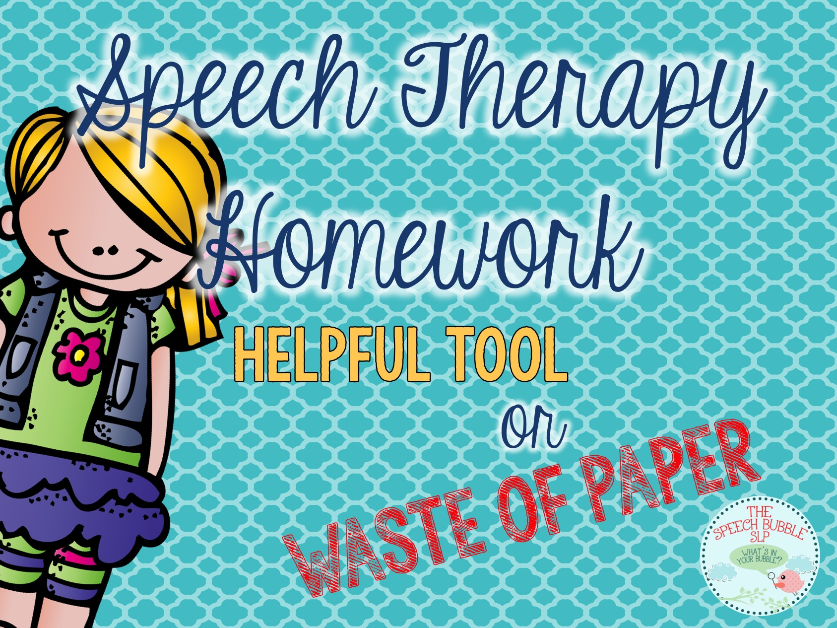 Speech Homework: Helpful Tool or Waste of Paper? - The Speech Bubble