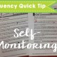 Fluency Monitoring Quick Tip