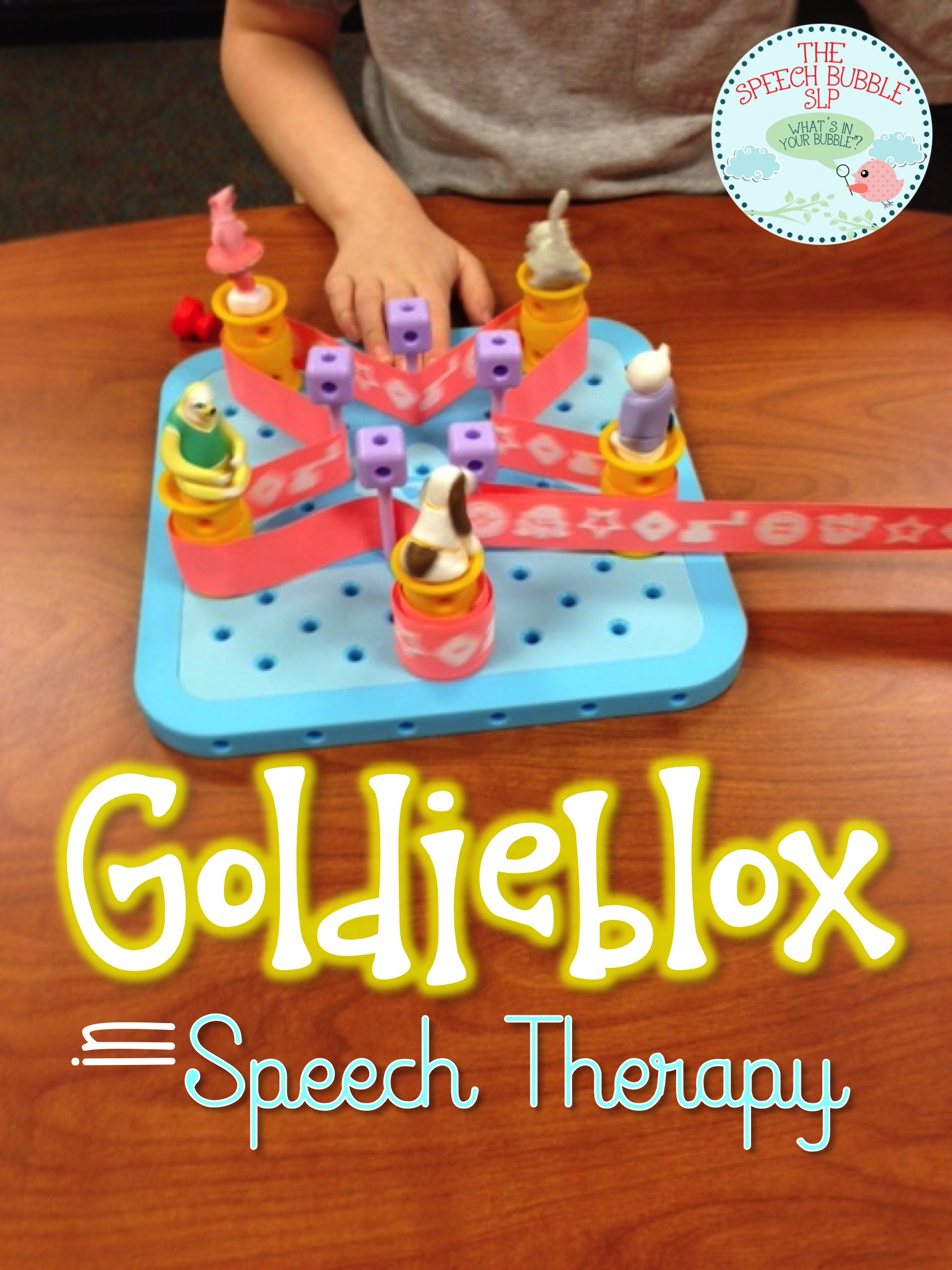 Goldieblox in the Speech Room