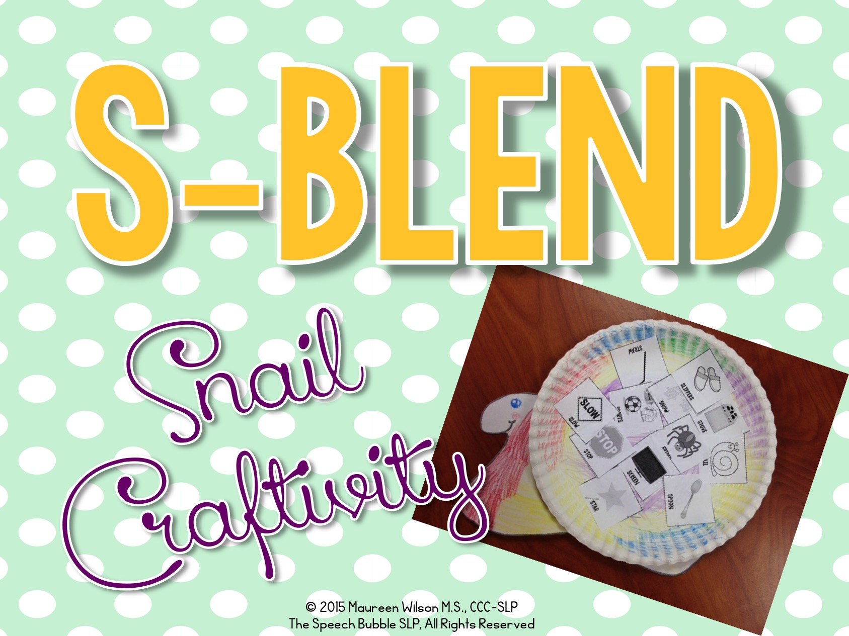 S-Blend Craftivity FREEBIE