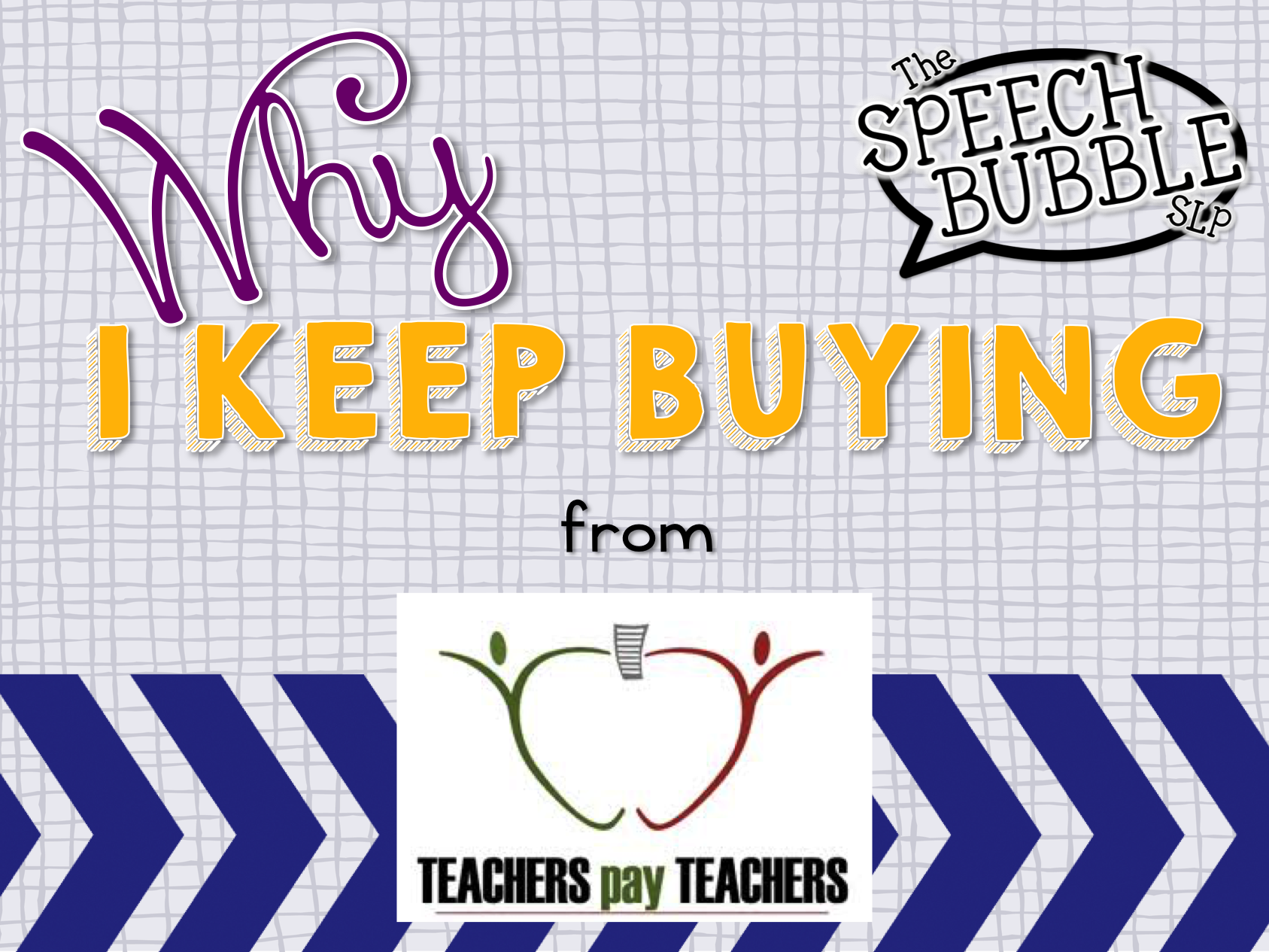 Why I Keep Buying From TpT