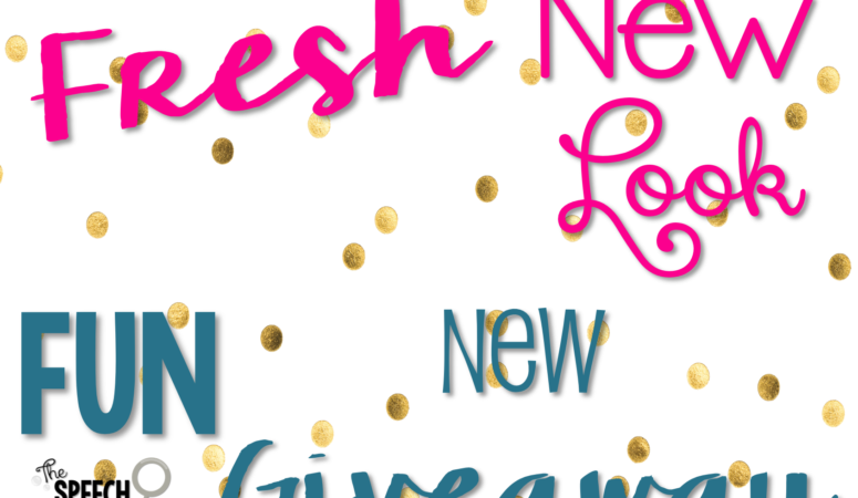 Fresh New Look and Fun New GIVEAWAY!