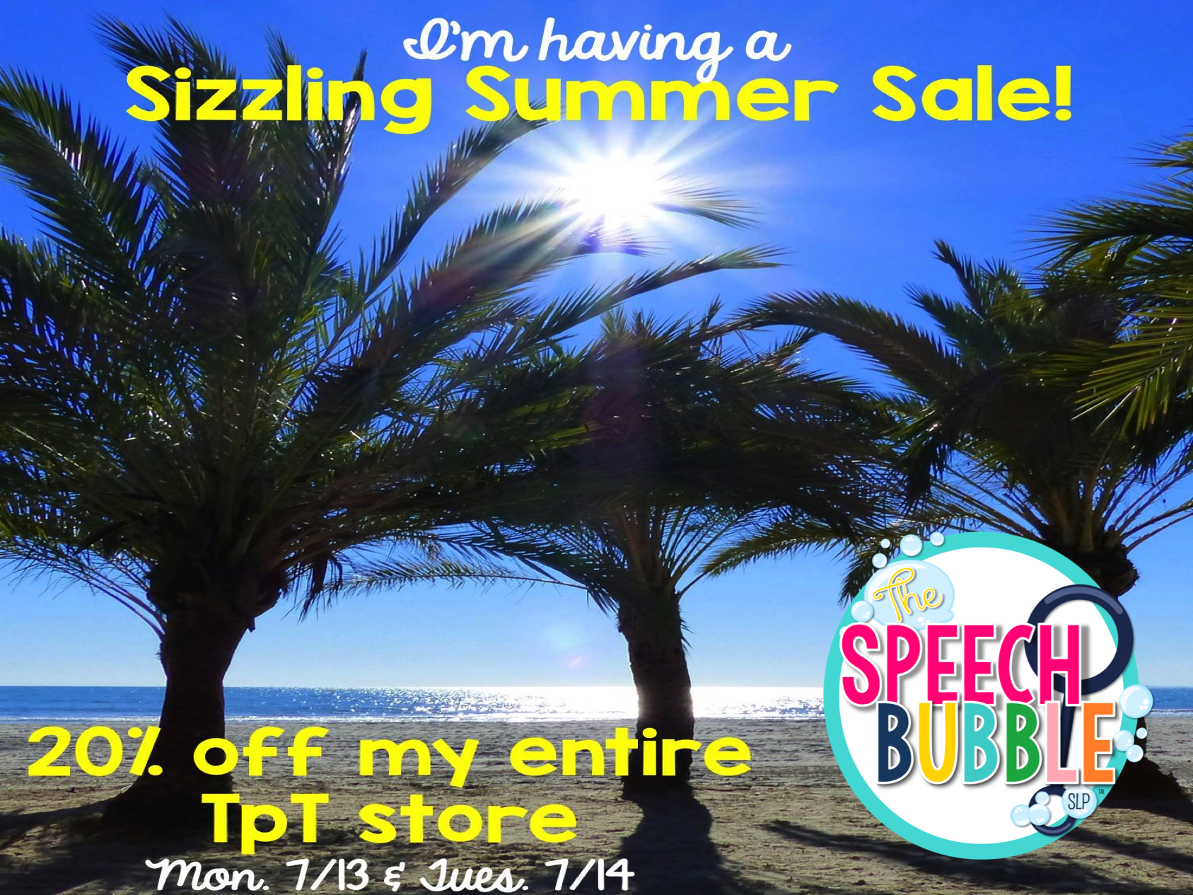 Sizzlin' Summer Sale!