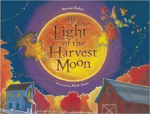 fall books for speech therapy by the light of the harvest harriet ziefort mark jones cover