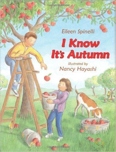 fall books for speech therapy i know its autumn eileen spinelli nancy hayashi cover