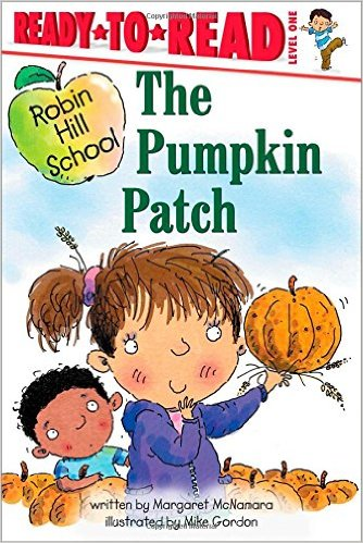 fall books for speech therapy the pumpkin patch margaret mcnamara mike gordon cover